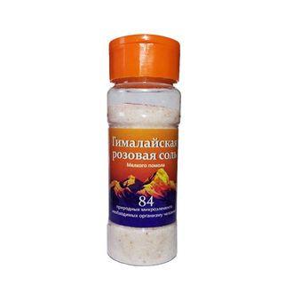 Соль Гималайская розовая помол №0 солонка 150гр