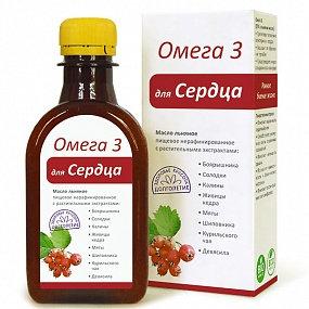 "Масло ""Для СЕРДЦА"" Омега 3 -200мл"