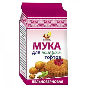 """Мука для тортов цельнозерновая 700 гр. """"Дивинка"""""""