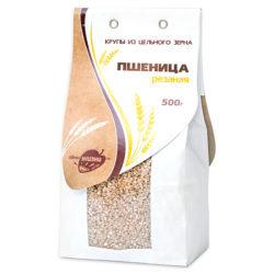 Пшеница отборная, резаная 500 гр. пачка Образ Жизни