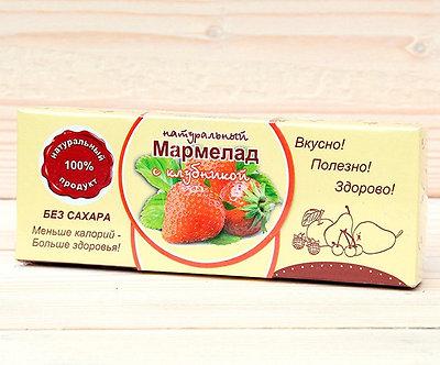 Мармелад  с Земляникой   без сахара 140 гр