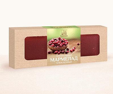 Мармелад натуральный Клюква, 320 гр.