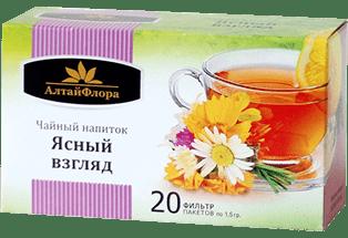 """Напиток чайный """"Ясный взгляд"""" 20 ф/п*1,5 гр."""