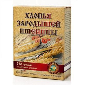 Хлопья зародышей пшеницы  СибТар 250 гр.