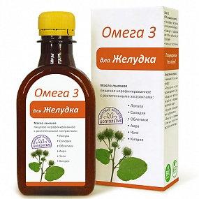 "Масло ""Для ЖЕЛУДКА"" Омега3 - 200 мл."