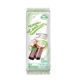 Умные сладости Батончики безглютеновые со кокосовой начинкой 20 гр.