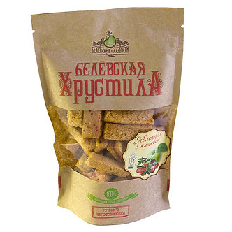Хрустила Яблочная с клюквой 70 гр.