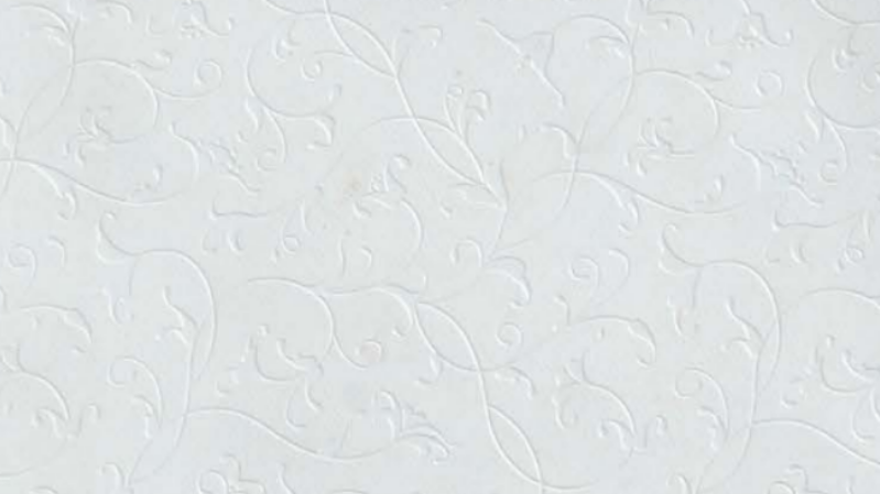 Mica Laminate Flower Frosty White