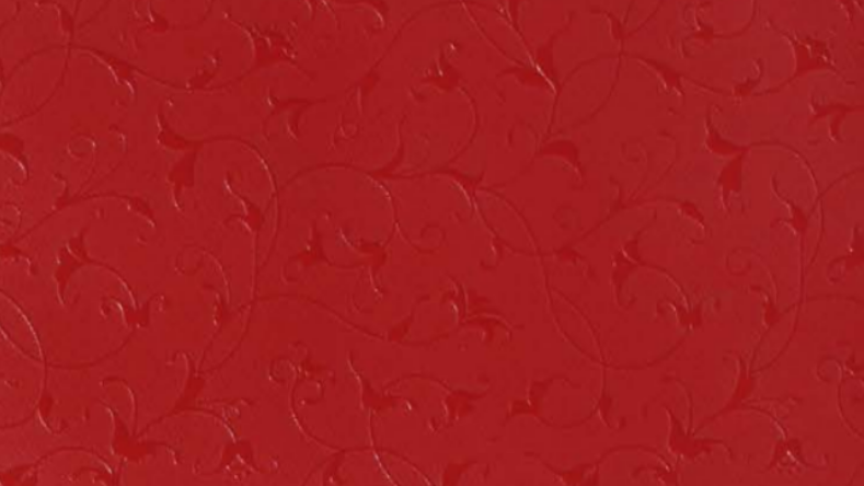 Mica Laminate Flower Blood Red