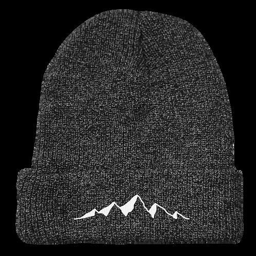 Mountains Beanie Grey