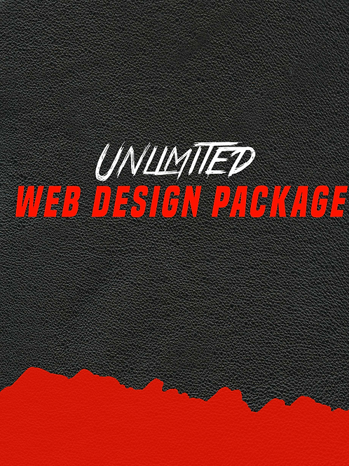 Unlimited WebDesign Package $3000