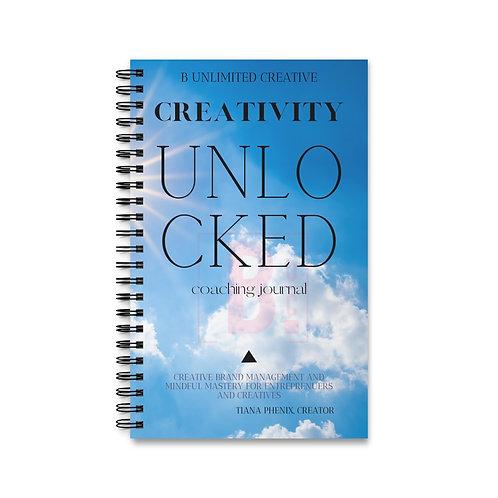B UNLIMITED CREATIVITY UNLOCKED Spiral Journal (EU)