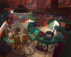 Honk's Workshop Interior