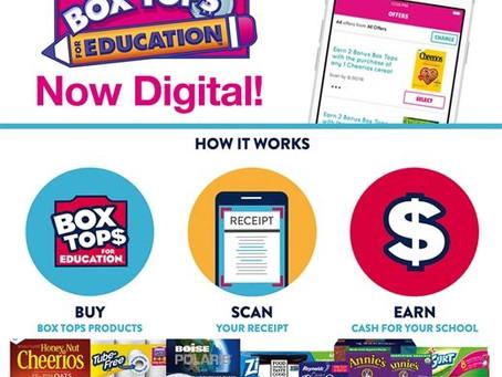 Box Tops go digital