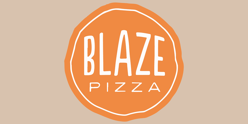 Blaze Pizza Fund Raiser Night