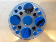 Blue dots bowl