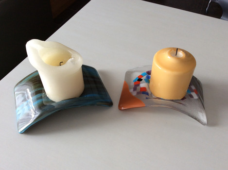 Candle holders (x2)