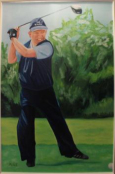 Bob at St Michel Golf Club