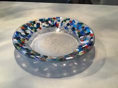 Mosaic saide bowl