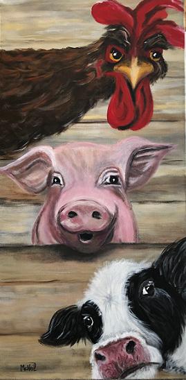 Vive les végétariens!