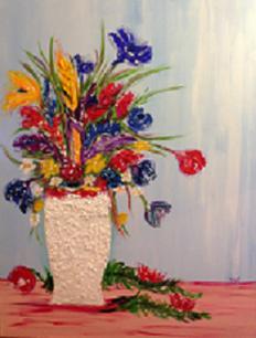 Fleurs stylisés