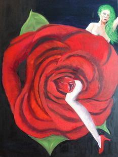 A unique rose