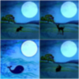 All animals love the Moon - Bella Rose & Friends Stories
