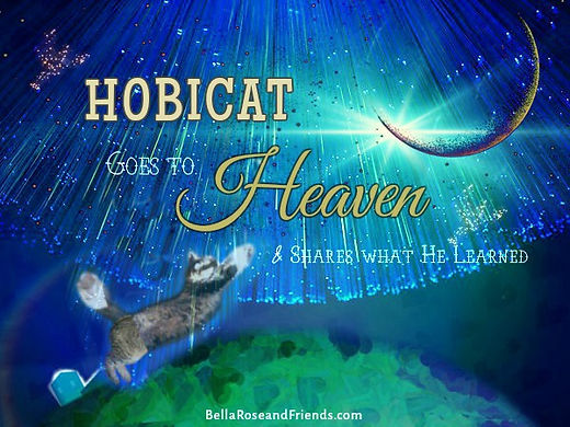 Hobicat Goes to Heaven - Short Kids Story at Bella Rose & Friends.com