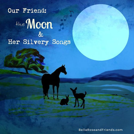 Our Friend the Moon & Her Silvery Songs story cover