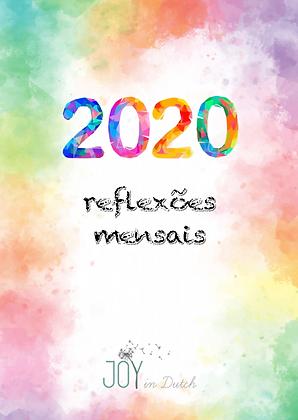 Reflexões mensais 2020