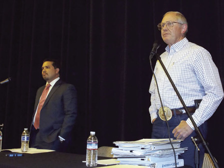 DISTRICT 1 SUPERVISOR CANDIDATES DUEL IT OUT