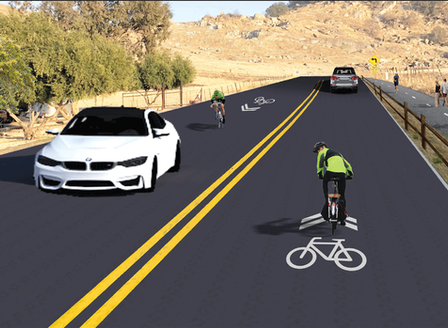Board of Supervisors hears proposal on adding ped/bike path to Rocky Hill Drive