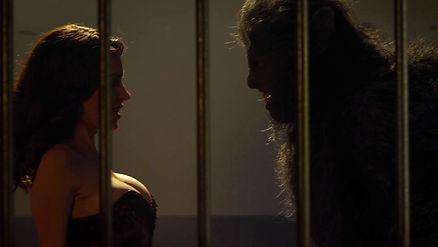 Sarah Lind (Jessica) & Wolfcop.....