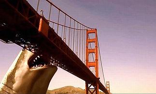 MS vs GO - Mega Shark attacking the Golden Gate bridge