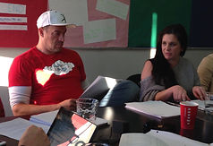 Aleks & Lisa table read