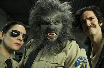Amy Matysio (Tina), Leo Fafard (Wolfcop/Lou) & Jonathan Cherry (Willie)