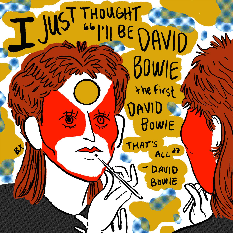David Bowie for Night Flight & IFC