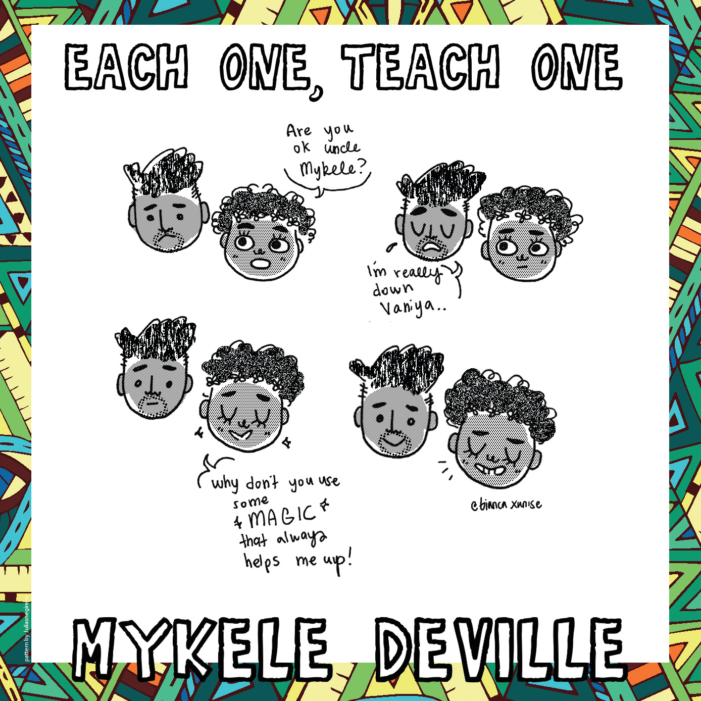 Each One Teach One Album Cover