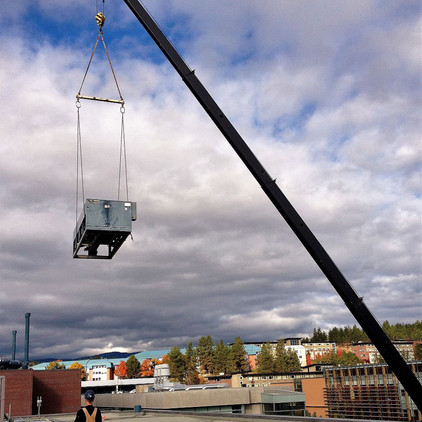 UBCO Arts and Library Chiller Upgrades