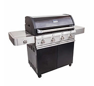 Saber Cast Black 4-Burner Gas Grill