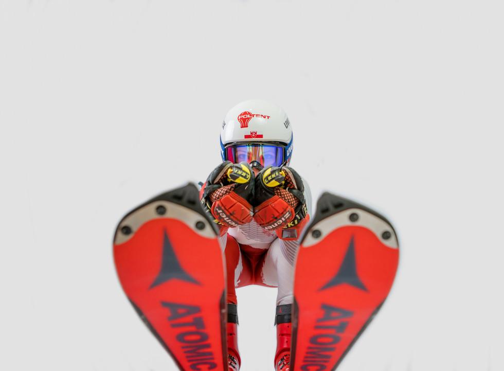Maryna Gąsiennica narciarka alpejska