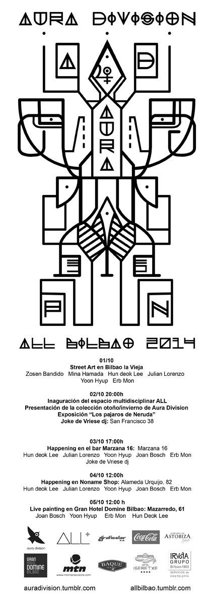 Aura Division tour Bilbao 2014