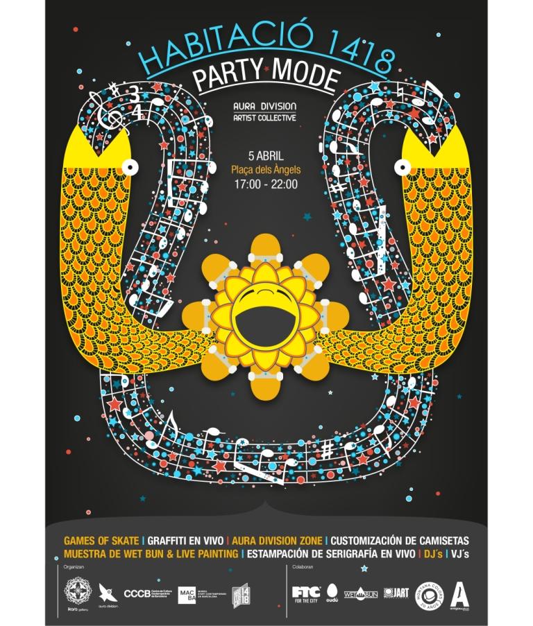 Party Mode Habitació 1418 CCCB MACBA