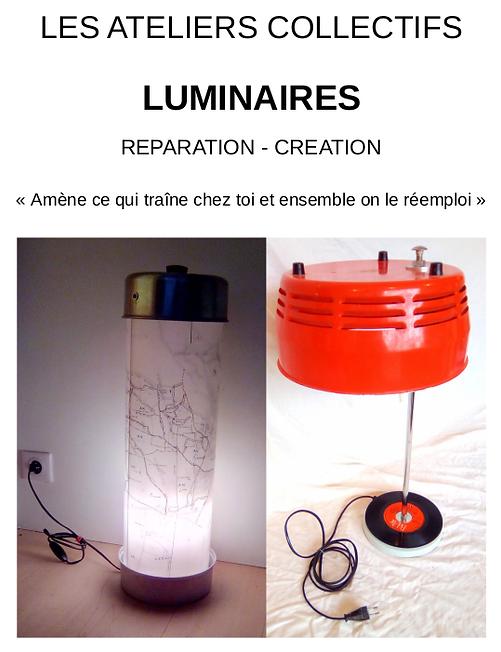 atelier luminaires