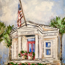 Iconic Post Office - (Unframed)