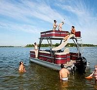 Prescott Boat for rental slide Tri-toon