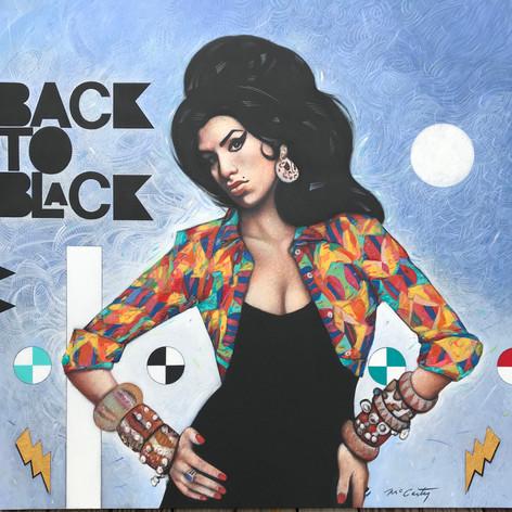 Back To Black -  Unframed