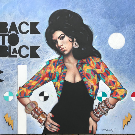 Back To Black -  Unframed
