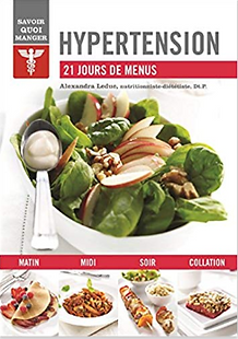 Hypertention : 21 jours de menus | Solutions-diabetes