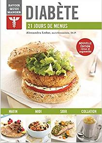 Diabète : 21 jours de menus | Solutions-diabetes